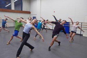 Juilliard dancers in baker's Dozen, photo y Jeffrey Cuyubamba