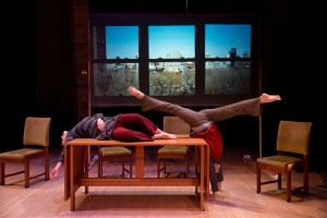 "Susan Rethorst's ""208 East Broadway,"" performed at Bryn Mawr, photo by Johanna Austin"