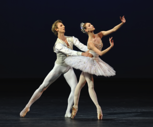 Olga Smirnova and Semyon Chudin in Diamonds, photo by Marc Haegemon © Balanchine Trust