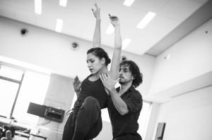 Rehearsal of Hogar, photo by Paula Lobo