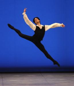 Maria Vitale Labrador, an American with the Mikhailovsky Ballet