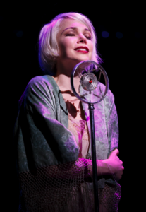 Michelle Williams as Sally Bowles, photo by Joan Marcus