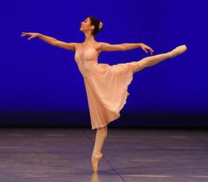 Polina Buldakova, Perm, in Tschikovsky Pas de Deux @Balanchine Trust