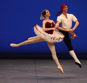 Akexandre Taranov and Eugenia Lyakova, Perm, in Tarantella @Balanchine Trust