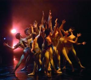 The Joffrey Ballet in Light Rain, photo by Herbert Migdoll