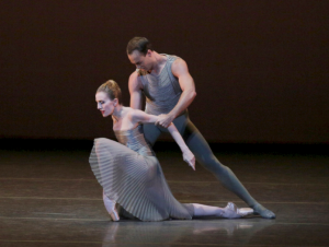 Wendy Whelan and Tyler Angle in This Bitter Earth, photo by Paul Kolnik