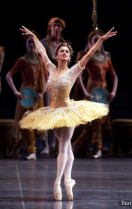 Misty Copeland in Bayadère, photo by Rosalie O'Connor