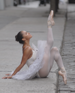 Misty Copeland in a shoot by Weiferd Watts