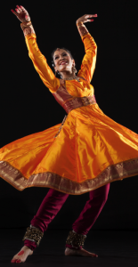 Rachna Nivas of Chitresh Das Dance Company, photo by Margo Moritz