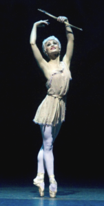 Sarah Lane as Queen of tehe Dryads in Don Quixote, photo by Gene Schiavone