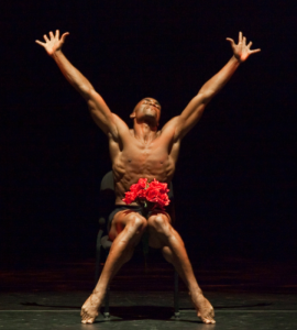 Desmond Richardson in Moonlight Solo, photo by Sharen Bradford