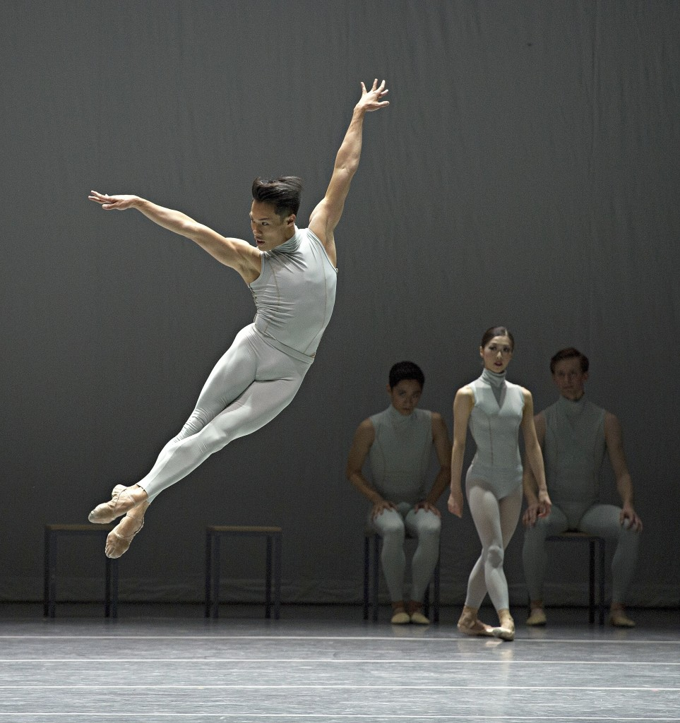 John Lam in The Second Detail, photo by Gene Schiavone