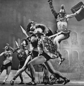 CIrcus scene in Yacobson's Spartacus