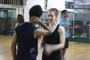 Irene SiegelTeaching Workshop in the Sareyyet Ramallah studio, 2011