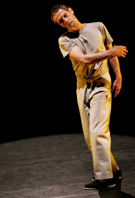 The Beast by Steve Paxton, premiered at Baryshnikov Art Center, 2010, photo by Julieta Cervantes