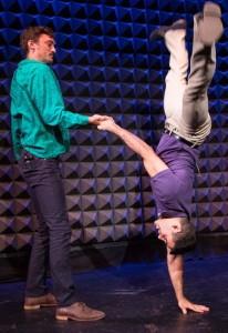 Sean Donovan and Javier Perez in Jane Comfort's Excuse Me, But…