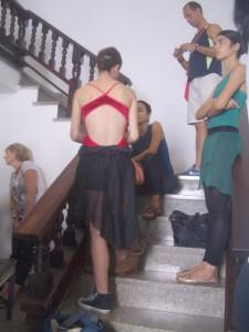 Hallway of National Ballet School, Havana