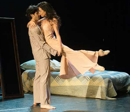 Alessandra Ferri & Herman Cornejo in Chéri. Photo by Christopher Duggan.