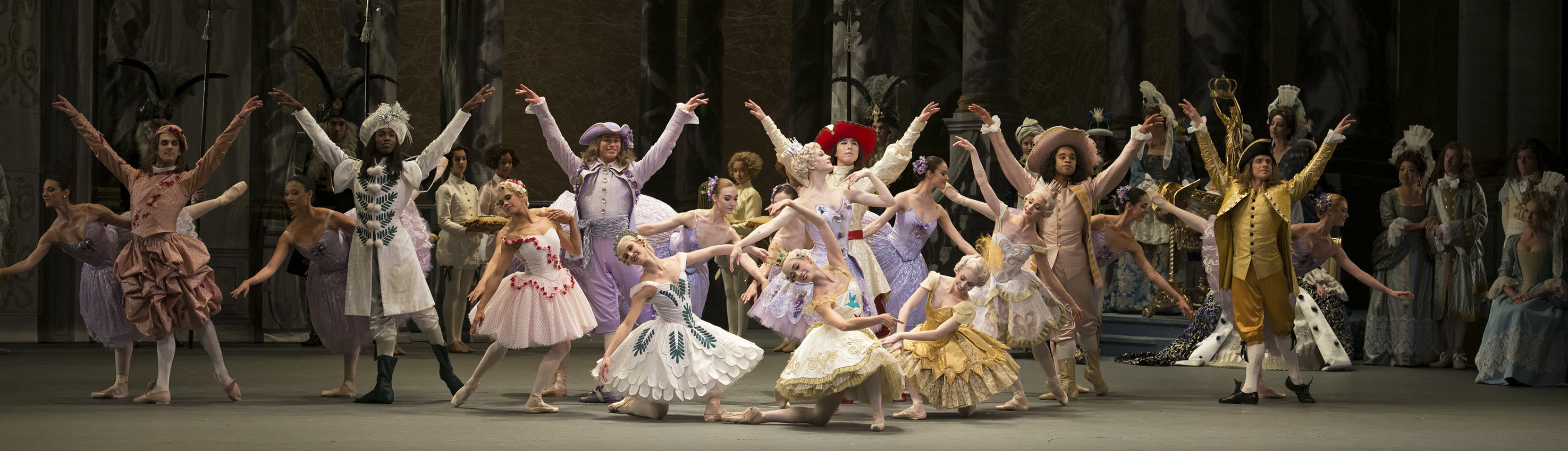 ABT in Ratmansky's Sleeping Beauty.  Photo by Gene Schiavone.