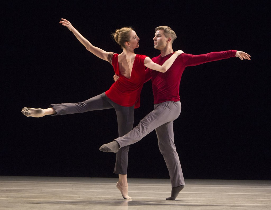 Wendy Whelan with oshua Beamish in Restless Creature, photo by XXYYZZ