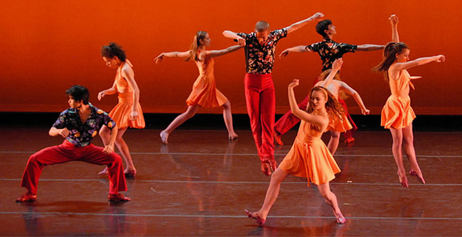 Juilliard students in Deuce Coupe, 2007
