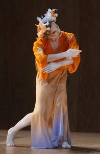 "Wendy Whelan in David Michalek's ""Hagoromo,"" photo by Julieta Cervantes"