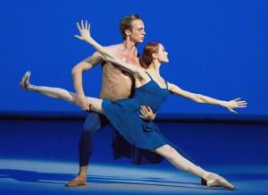 """Trois Gnociennes"" with Lopatkina and Yermakov. photo by Mikhail Logvinov"