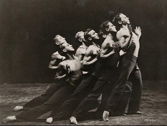 Ted Shawn and His Men Dancers, 1920s or '30s