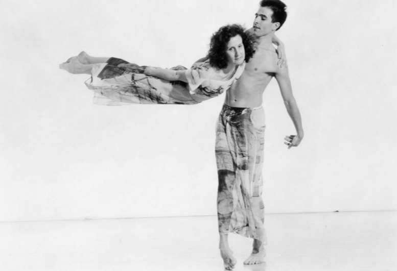 Trisha Brown and Stephen Petronio in Set and Reset, © estate of Jack Mitchell