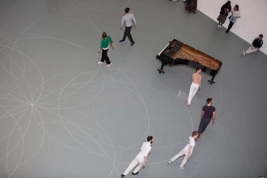 """Anne Teresa De Keersmaeker """"Work/Travail/Arbeid"""" The Museum of Modern Art New York, N.Y. March 29, 2017 Photo Credit: Julieta Cervantes"""